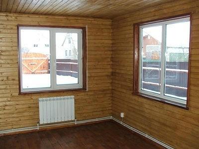 Установили новые окна в коттедж